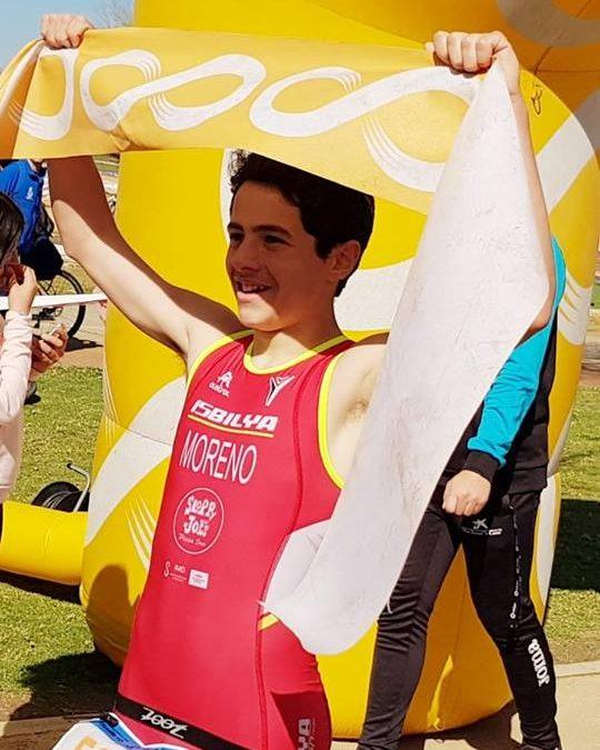 Resultados del fin de semana: David Moreno y Paula Jurado ganadores del Duatlón cross de menores