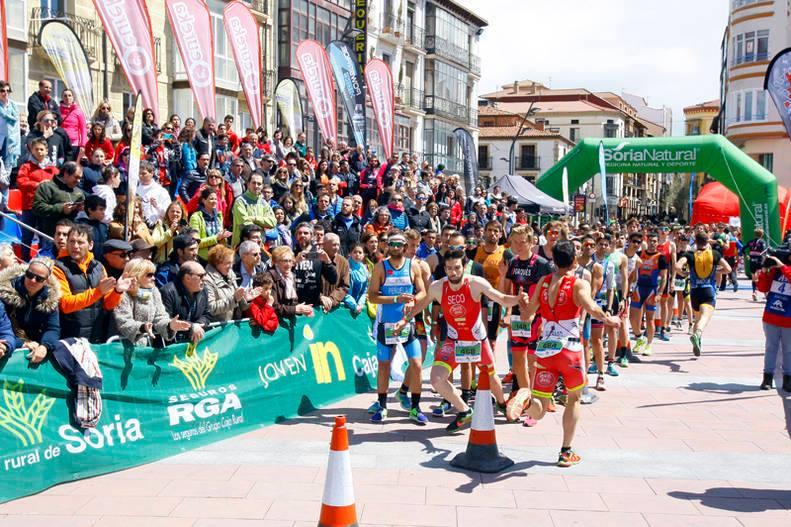 Luchando por las medallas en Soria (Cpto. de España contrarreloj y relevos)