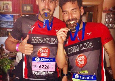 barbas maratón