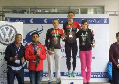 podium cpto andaluz du 2015